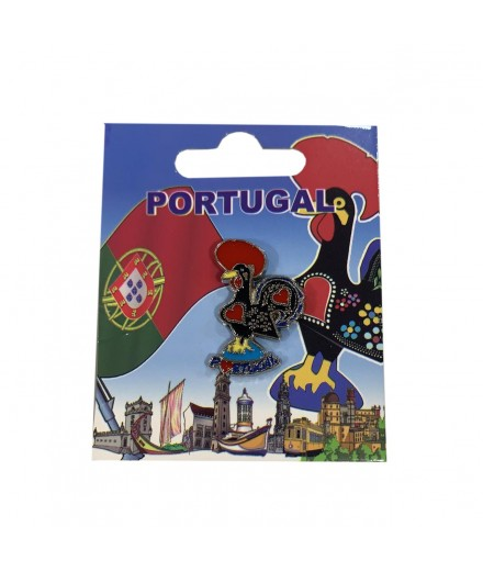 PIN METALICO GALO PORTUGAL