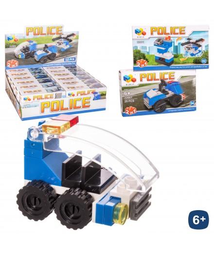 LEGO CONSTRUÇAO POLICIA SORT.
